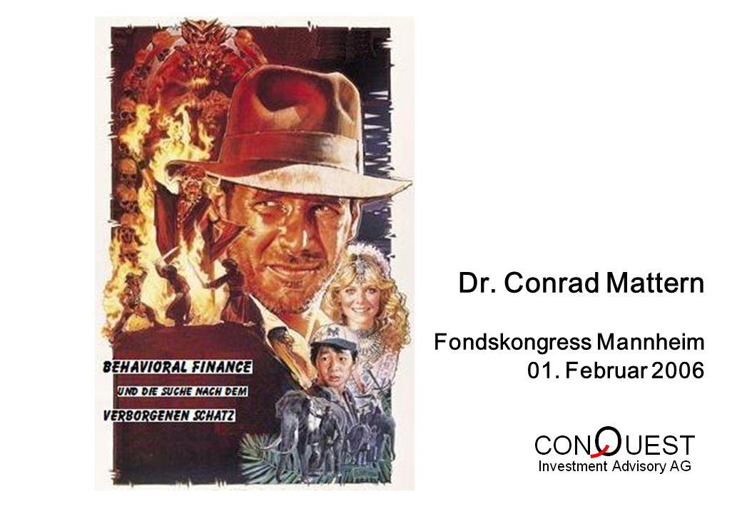 Dr. Conrad Mattern Fondskongress Mannheim 01. Februar 2006