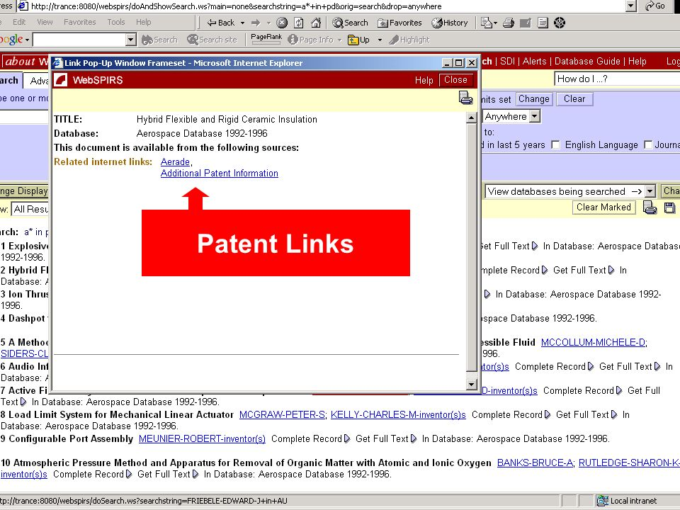 Patent Links