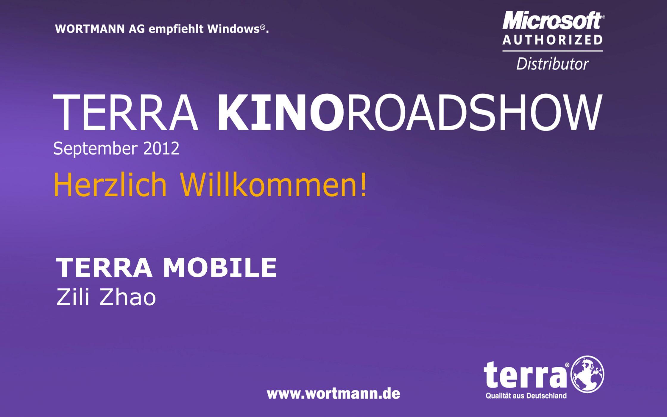www.wortmann.de TERRA MOBILE DOCKING-MODEL 15 TERRA 1540P 15,6 HD+ (1600x900) Non Glare Intel HM65 Chipsatz TERRA DOCKINGSTATION 840 TERRA 1541 15,6 FHD (1920x1080) Non Glare Intel HM77 Chipsatz TERRA DOCKINGSTATION 850 NEU EOL Q4 !