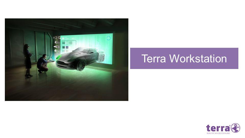 Aufgabe: Konstruktion und Design sichtbarer Zubehörteile in 3D Terra Lösung: Die Terra Workstation Maximus Die Terra Workstation Maximus, die in den Ausbaustufen Good, Better und Best verfügbar ist, enthält die neue NVIDIA® Maximus Technologie.