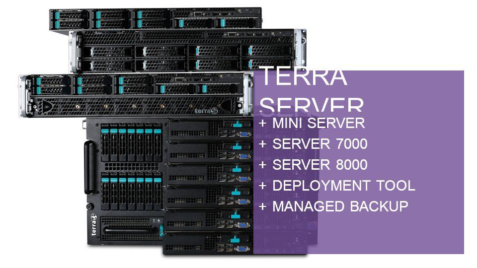 TERRA SERVER MINI SERVER – Mein erster Server, meist vorinstalliert.