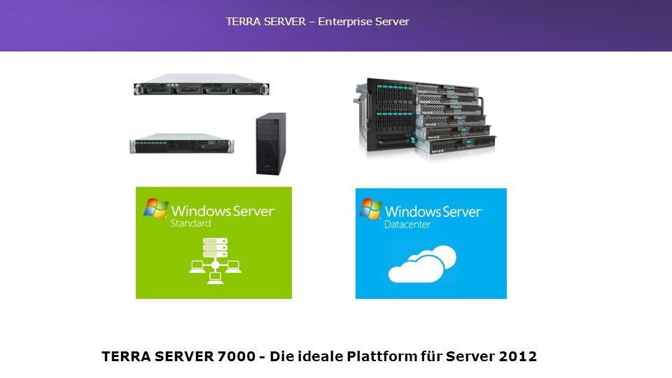 TERRA SERVER – Enterprise Server TERRA SERVER 7000 -Die ideale Plattform für Server 2012