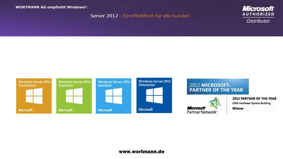 Server 2012 – Eine Plattform für alle Kunden