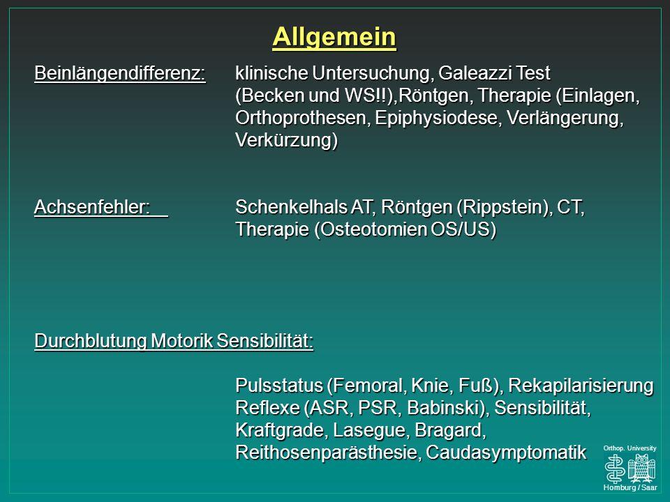 Homburg / Saar Orthop.