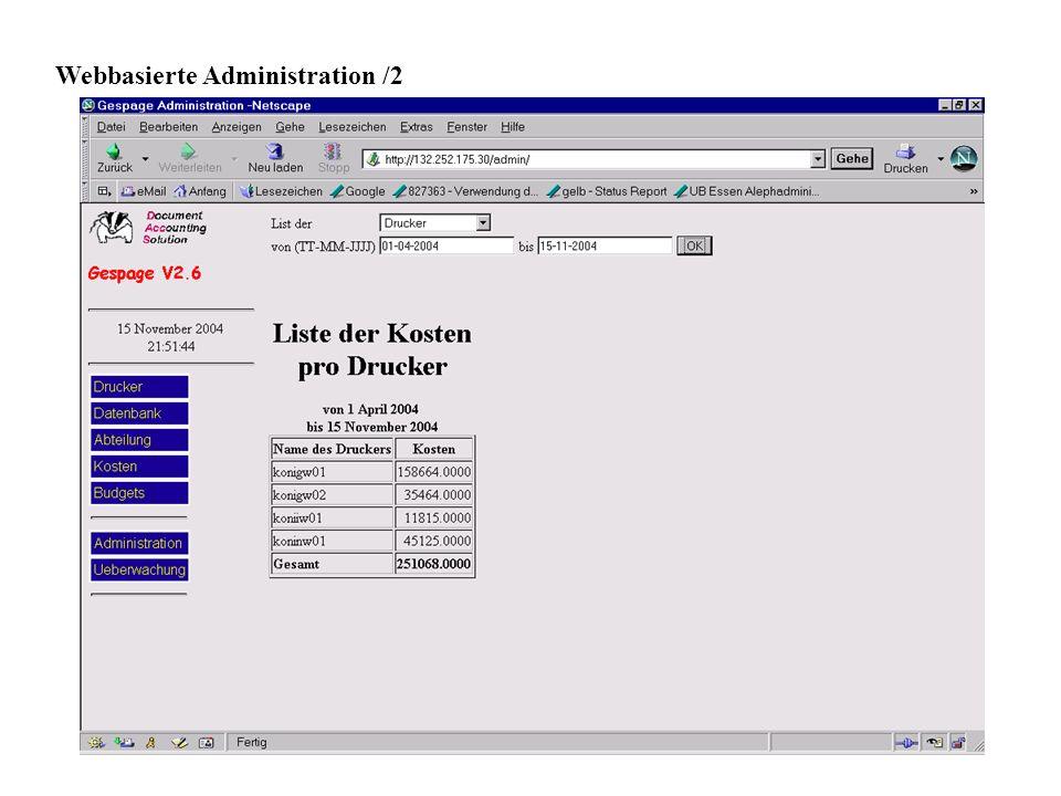 11 Webbasierte Administration /2