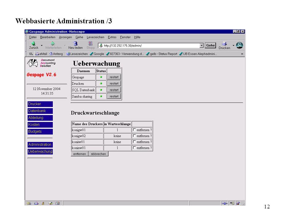 12 Webbasierte Administration /3