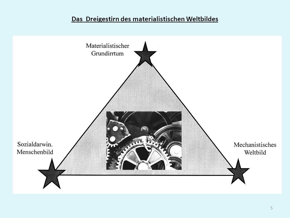 Das Dreigestirn des materialistischen Weltbildes 5