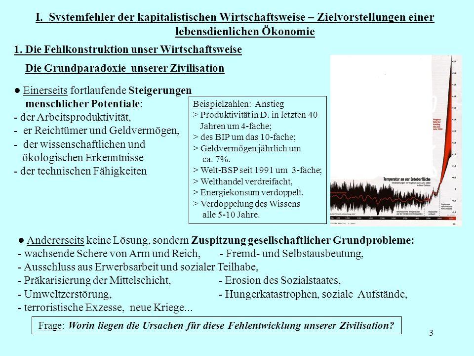 24 Bedingungsloses Grundeinkommen Funktion: Das BGE an Stelle der bisherigen Sozialleistungen: Sozialhilfe, Arbeitslosengeld, Kindergeld, Grund-Bafög, Grundrente...