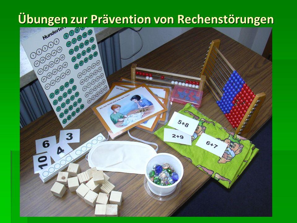 Eine Mathematik-Lernbox nach Wilhelm Schipper Ein Hauptsymptom für Rechenstörungen ist das verfestigte zählende Rechnen.