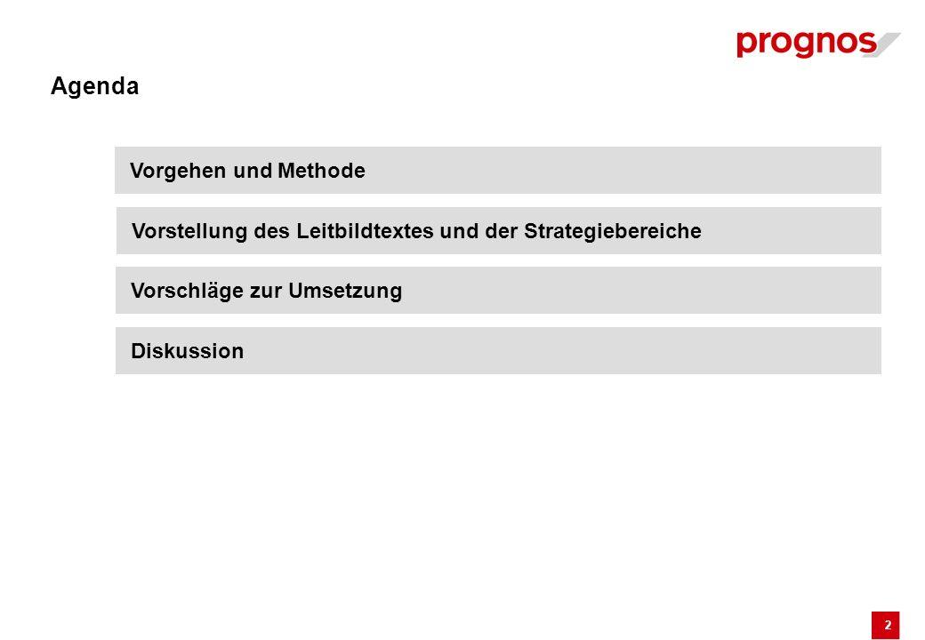 2 Agenda Vorgehen und Methode Vorstellung des Leitbildtextes und der Strategiebereiche Vorschläge zur Umsetzung Diskussion