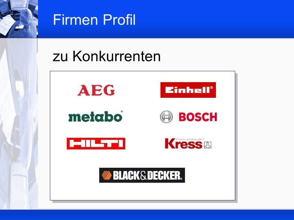 Firmen Profil zu Konkurrenten