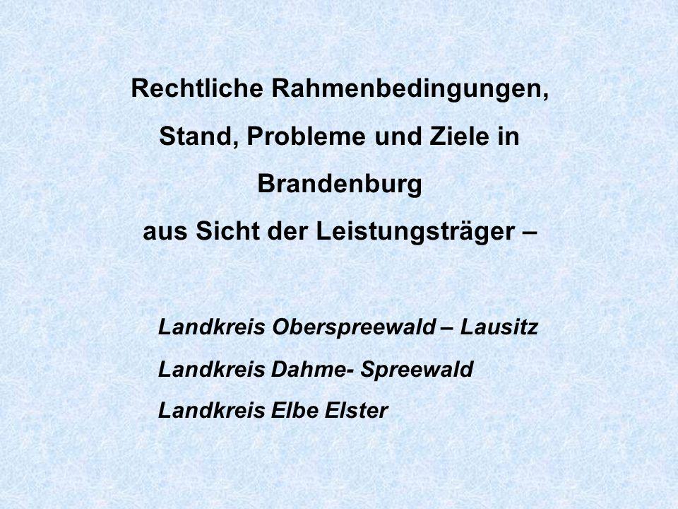 Brandenburger Kommission Potsdam, den 25.01.2007 nach § 75 SBG XII Land Brandenburg Beschluss Nr.
