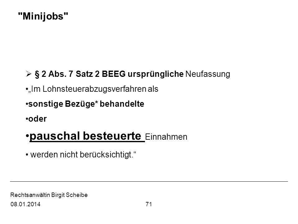 Rechtsanwältin Birgit Scheibe