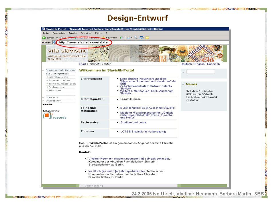 Design-Entwurf