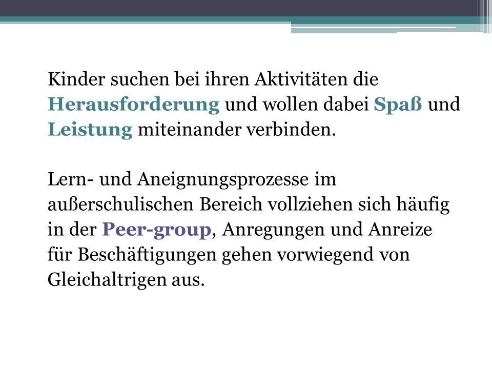 Bedeutung der Peer Group