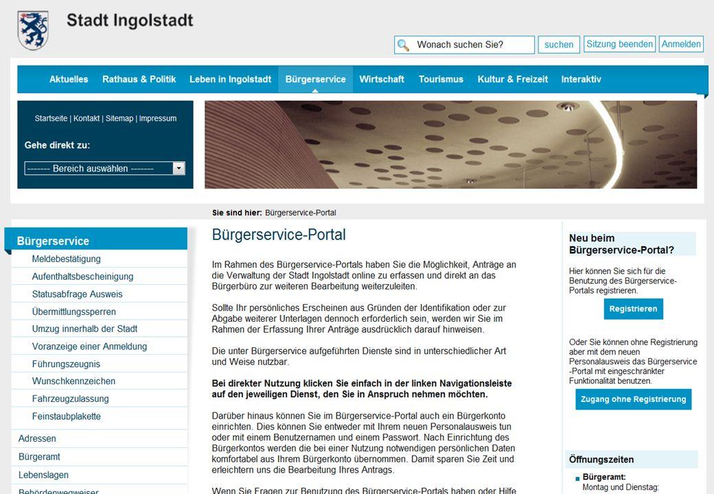 Stadt Ingolstadt Folien Onlinevorführung Herr Lehn Helmut Chase, Berufsmäßiger Stadtrat12