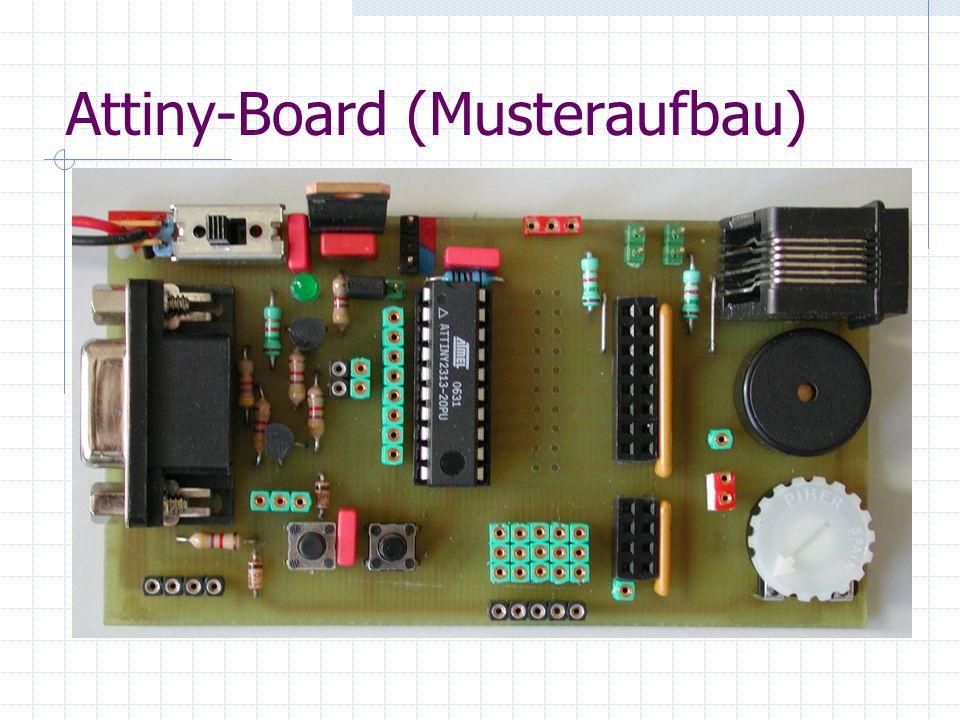 Attiny-Board (Musteraufbau)