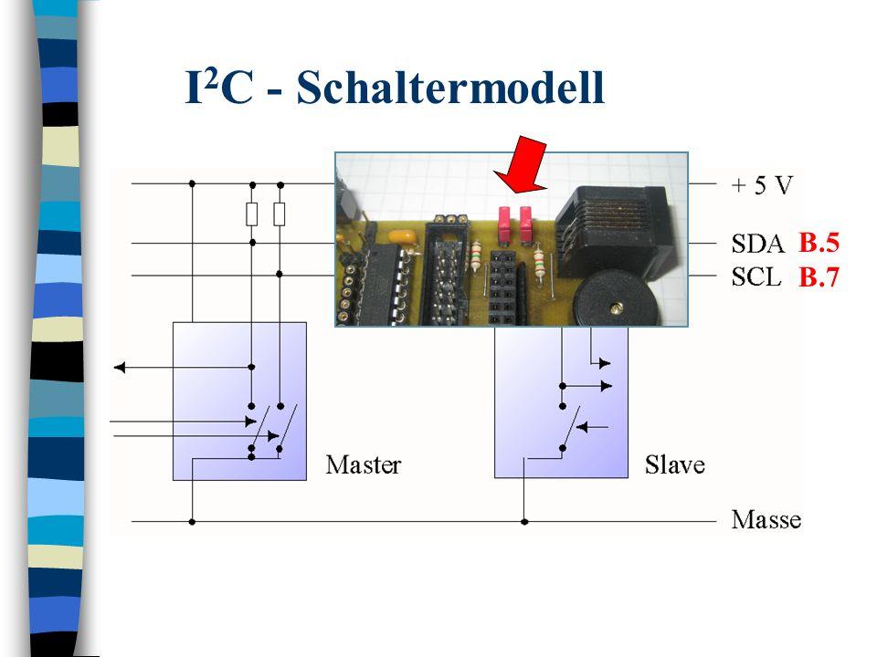 I 2 C - Schaltermodell B.5 B.7