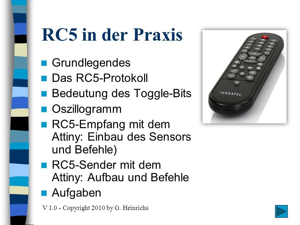 Grundlegendes Infrarotlicht Hochfrequenz-Pulse 14 Bits pro Kommando IR-Signal mit Digitalkamera sichtbar!