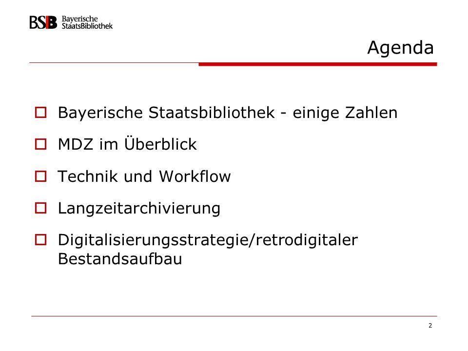 3 Bayerische Staatsbibliothek - einige Zahlen 1558 gegründet 680 Beschäftigte 43 Mio.