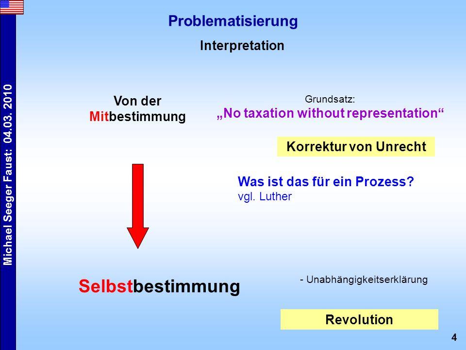 5 Michael Seeger Faust: 04.03.2010 Erarbeitung Q-Interpretation S.