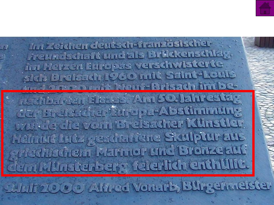 9 1) Europa – BreisachEuropa – Breisach 2) Q – Referat 28 Churchill 35 Vorbereitung der EWG 3)1962 ff AgrarordnungAgrarordnung 4) 1966 – 1999 Abstimmungsprinzip Abstimmungsprinzip 5) InstitutionenInstitutionen 6) 4 Freiheiten4 Freiheiten