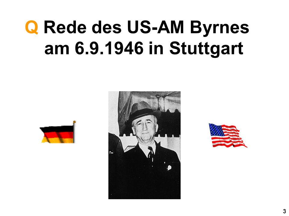 3 Q Rede des US-AM Byrnes am 6.9.1946 in Stuttgart