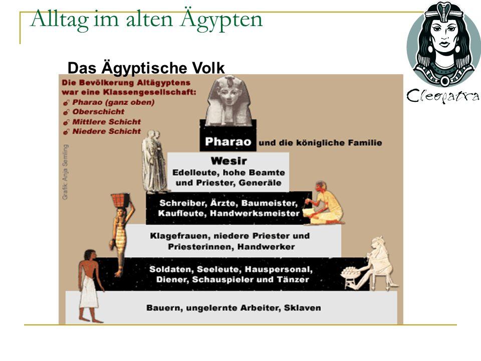 Alltag im alten Ägypten Das Ägyptische Volk