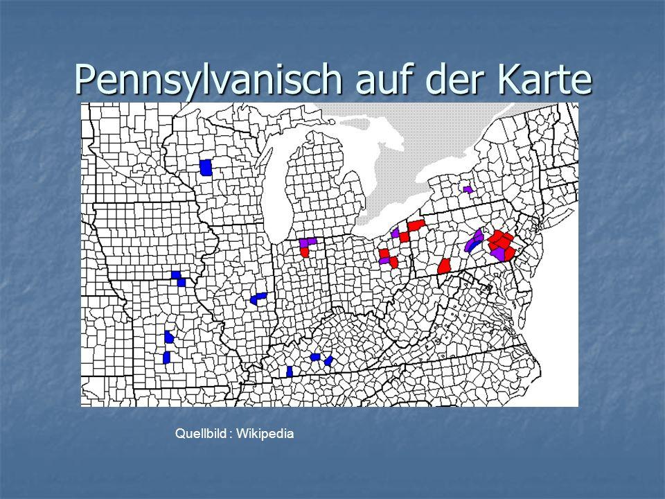 Pennsylvanisch auf der Karte Quellbild : Wikipedia