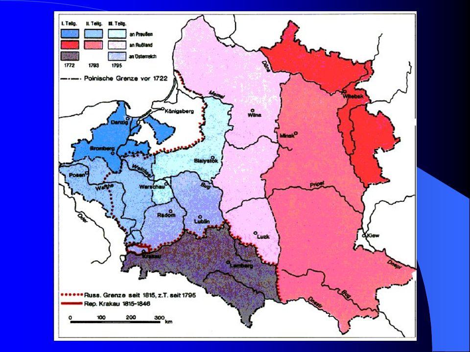 Die deutsch – polnischen Beziehungen Aufgabe: Nenne die Gründe für das angespannte Verhältnis.