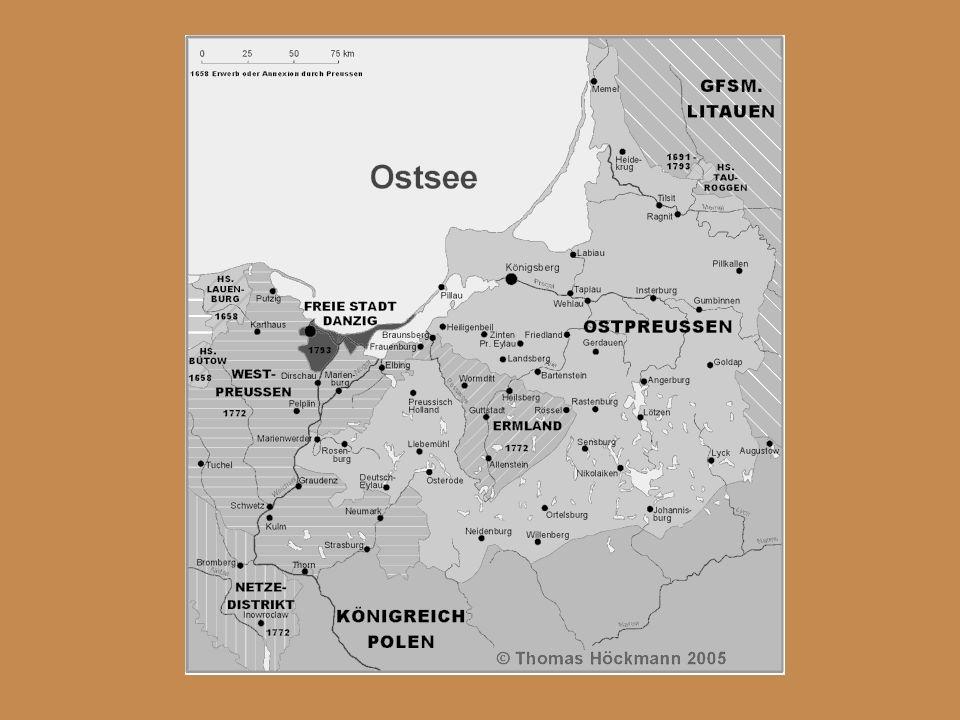 Reformen in den Rheinbundstaaten… Napoleon erschafft 1807 in Nordwestdeutschland ein französisches Musterland für seinen Bruder Jérôme: Aus Gebietsteilen Preußens, Hannovers, Braunschweigs und Kurhessens errichtete er Westfalen.