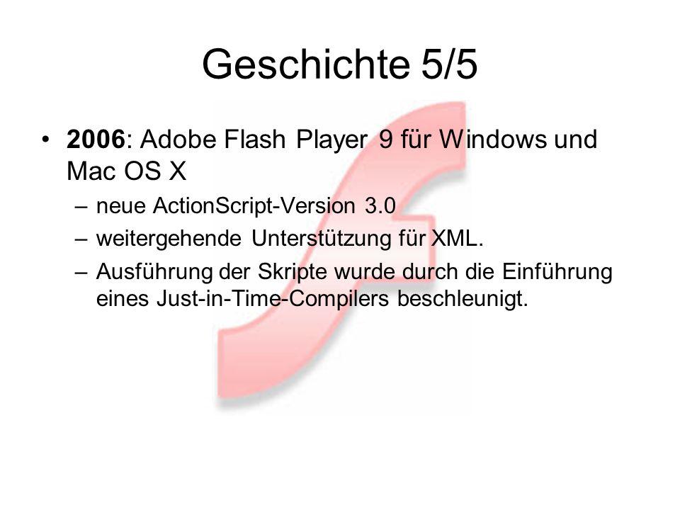 Was ist Flash.