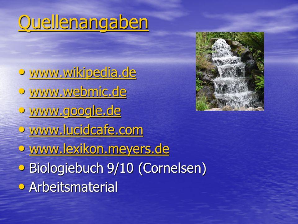 Quellenangaben www.wikipedia.de www.wikipedia.de www.wikipedia.de www.webmic.de www.webmic.de www.webmic.de www.google.de www.google.de www.google.de