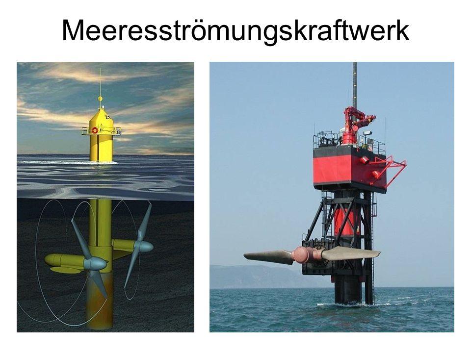 Meeresströmungskraftwerk