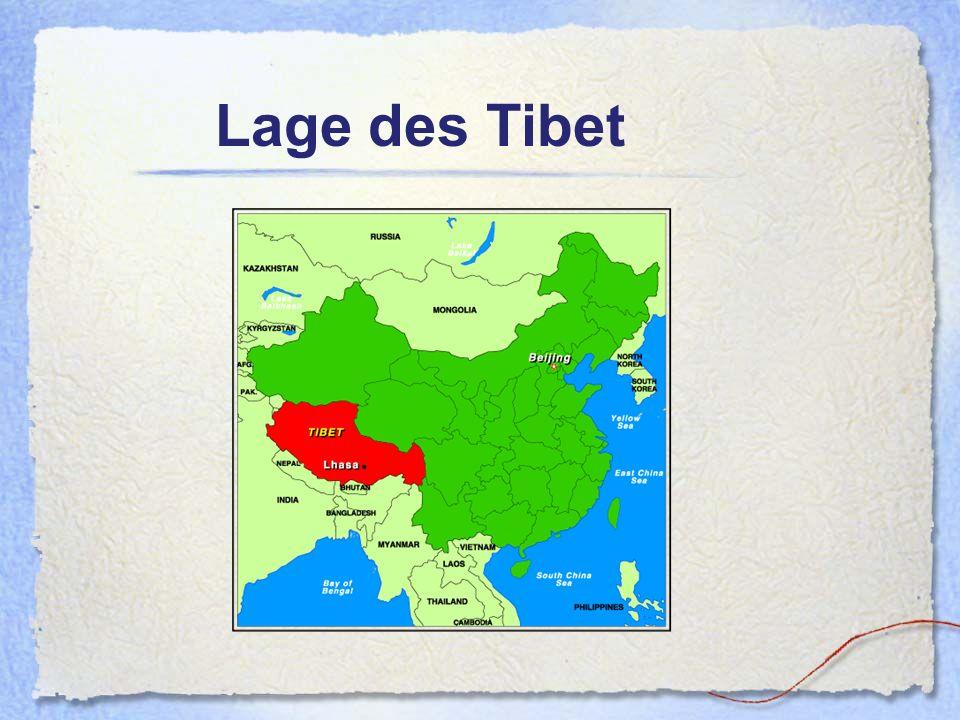 Lage des Tibet