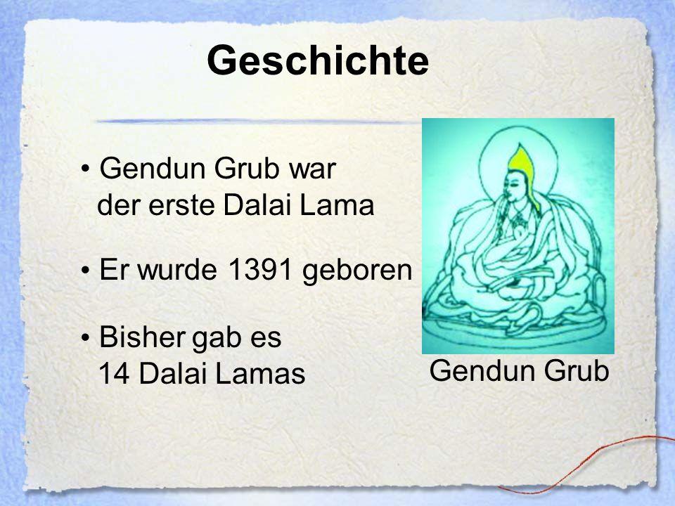 Auffindung Der neue Dalai Lama wird durch Visionen des Vorgängers gefunden Um sicherzugehen wird die gefundene Person zuerst getestet