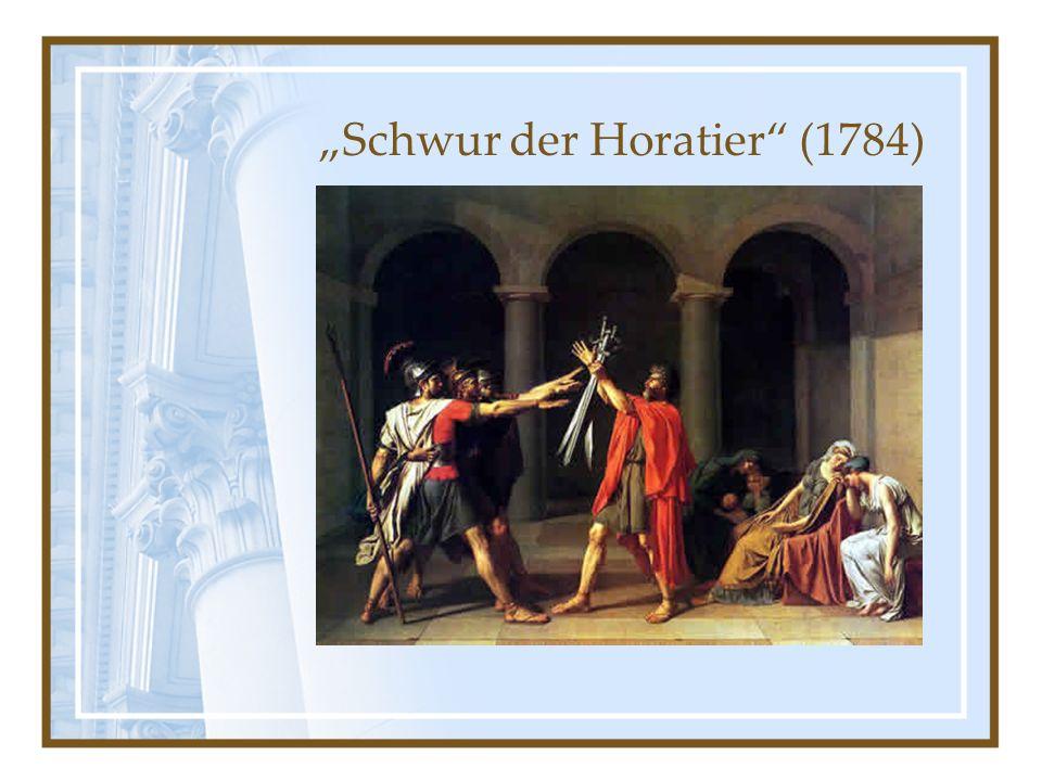 Schwur der Horatier (1784)