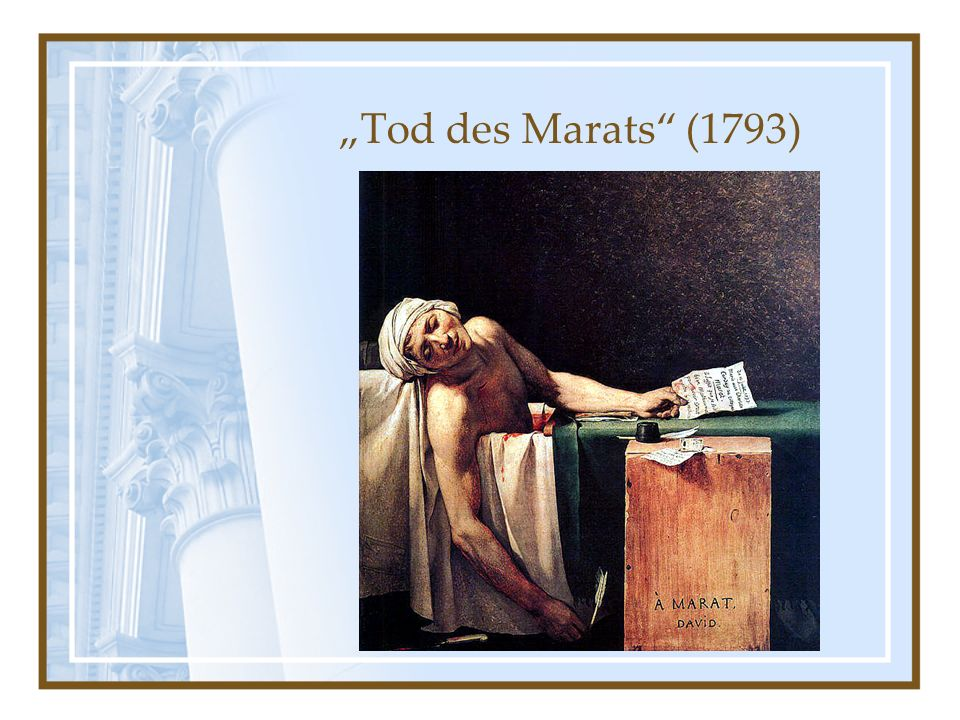 Tod des Marats (1793)