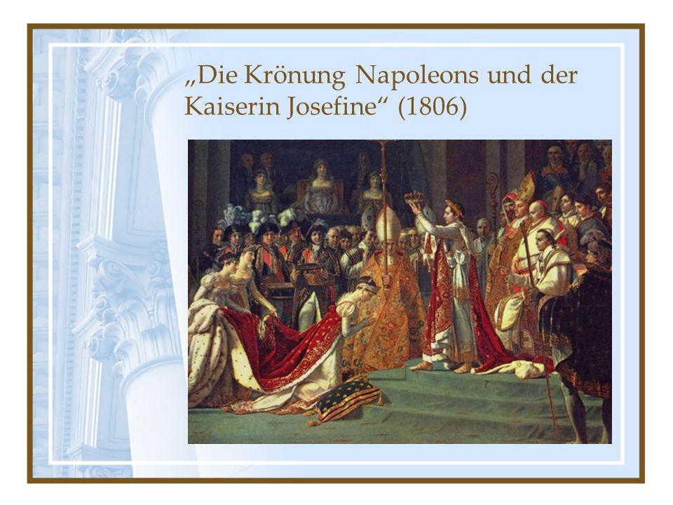 Die Krönung Napoleons und der Kaiserin Josefine (1806)