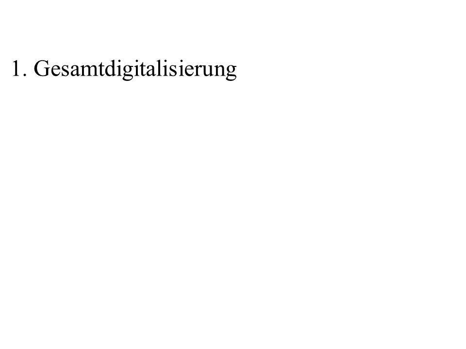 1. Gesamtdigitalisierung