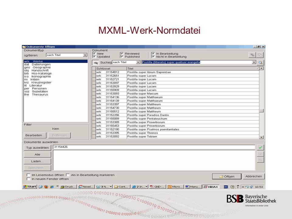 MXML-Werk-Normdatei