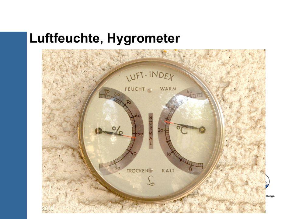 Luftfeuchte, Hygrometer 10/30