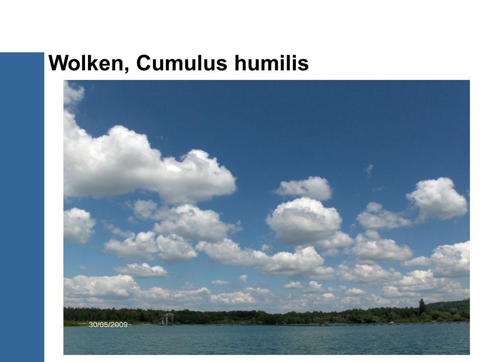 Wolken, Cumulus humilis 16/20