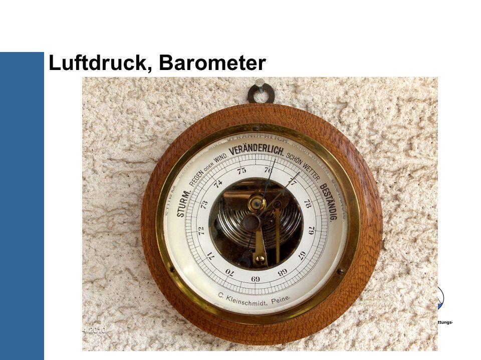 Luftdruck, Barometer 8/30