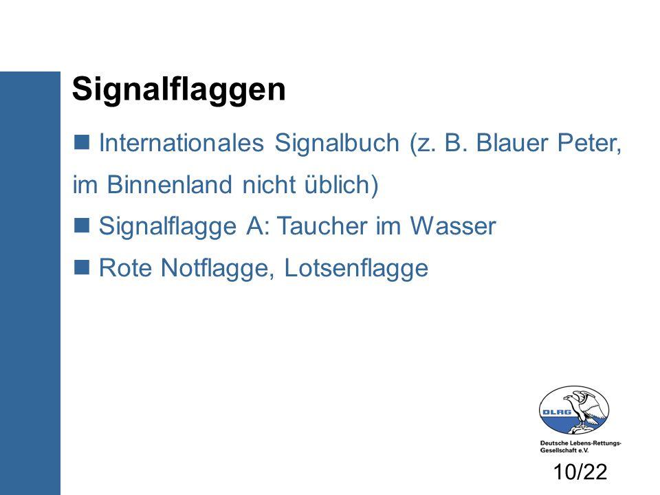 Internationales Signalbuch (z.B.