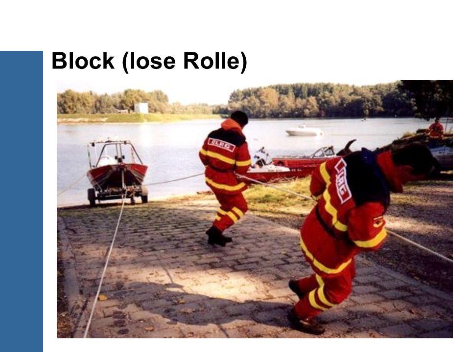 Block (lose Rolle)