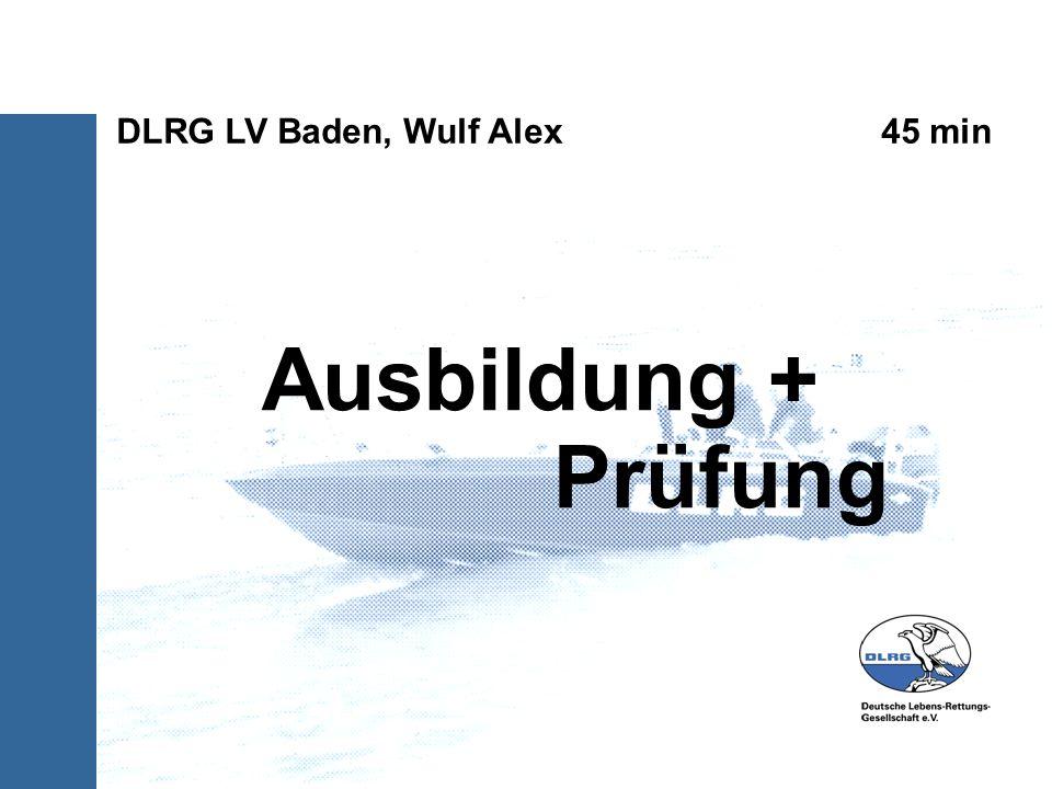 Unterlagen Prüfungsordnung DLRG-Bootsführer- Ausbildung (Ausbildungsrahmenplan zum Lehrgang Ausbildung Bootsführer A der DLRG) Teilnehmerhandbuch für die Ausbildung zum DLRG Motorrettungsbootführer Anweisung für den Bootsdienst in der DLRG Amtl.