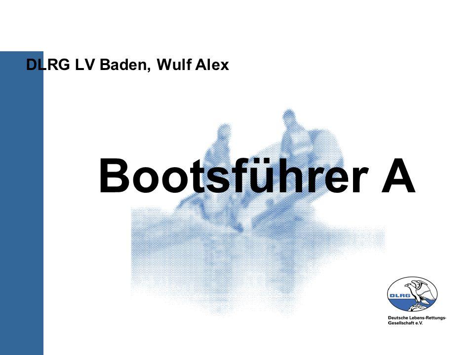 Bootsführer A DLRG LV Baden, Wulf Alex