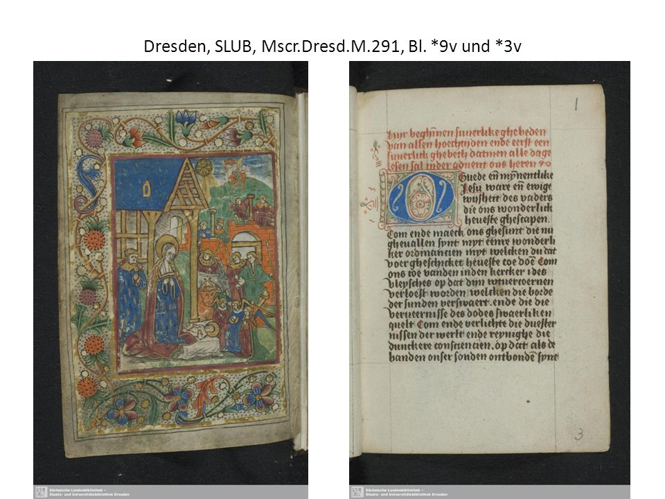 Lat.Text (Antidotarius animae, nach Griese, S. 487-491) Mscr.Dresd.App.318, Bl.
