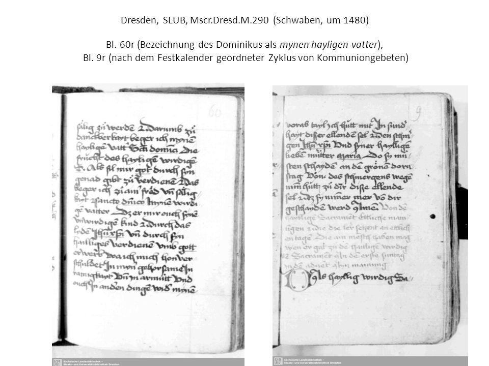 Dresden, SLUB, Mscr.Dresd.App.318 (rheinfränk.Dominikanerinnenkloster, um 1550) Bl.